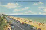 Beach Postcard II Art Print