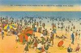 Beach Postcard IV Art Print
