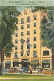 Florida Postcard V Art Print