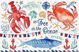 Maritime Delight I Art Print