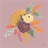 Harvest Garden Flowers III Art Print