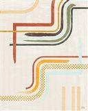 Lingering Lines II Art Print
