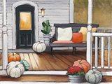 October Evening Art Print