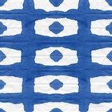Aquarelle Blue Square X Art Print
