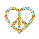 Peace and Love II Art Print