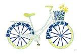 Garden Bike Art Print