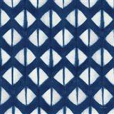Shibori Square X Art Print