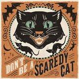 Scaredy Cats III Art Print