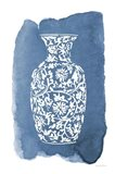 Chinese Vase II Art Print