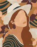 Modern Woman II Art Print