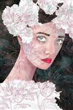 Floral Duchess Art Print