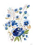 True Blue I Art Print