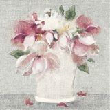 Cottage Bouquet II Light Art Print