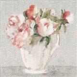 Cottage Bouquet III Light Art Print