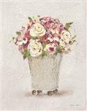 Parlor Roses I Light Art Print