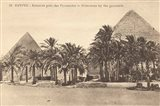 Egypt Postcard II Art Print