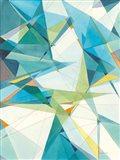Prism II Oasis Art Print