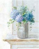 Morning Hydrangeas I Art Print