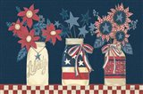 American Country Jars Art Print