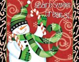 Sweet Holidays I Art Print