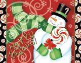 Sweet Holidays II Art Print