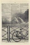 La Bicyclette I Crop Art Print