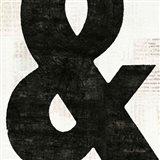 Punctuated Black Square  III Art Print