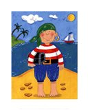 Treasure Island I Art Print