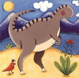 Baby Izzy The Iguanodon Art Print
