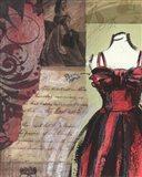 Couture I Art Print