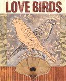 Love Birds I Art Print