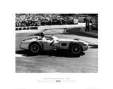 Grand Prix de Monaco 1955 Art Print
