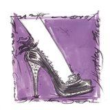 Catwalk Heels I Art Print