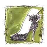 Catwalk Heels II Art Print