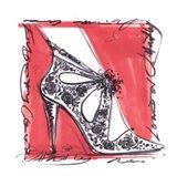 Catwalk Heels III Art Print