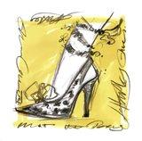 Catwalk Heels IV Art Print