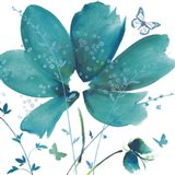 Blue Dawn II Art Print
