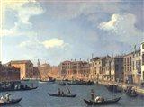 View Of The Canal Of Santa Chiara Art Print