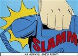 Slamm! Art Print