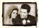 Elvis Presley Weds, 1967 Art Print