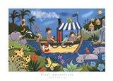 River Adventures Art Print