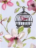 Bird Cage I Art Print