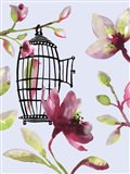 Bird Cage II Art Print