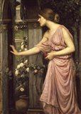 Psyche Entering Cupid's Garden Art Print