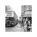 Tottenham Court Road And Oxford Street Junction, 1965 Art Print