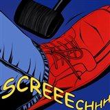 Screeechhh Art Print