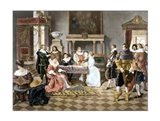 Contract of Marriage Art Print