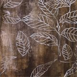 Graphic Leaves I Art Print
