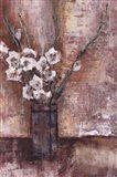 Flores Blanco Art Print