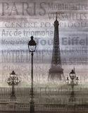 Paris I Art Print